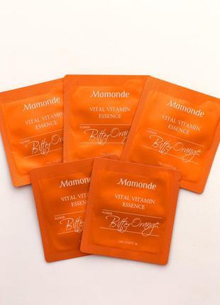 Пробник mamonde vital vitamin essence витаминная эссенция