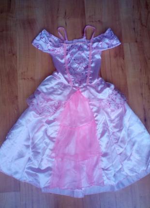 Костюм карнавальный, платье принцессы