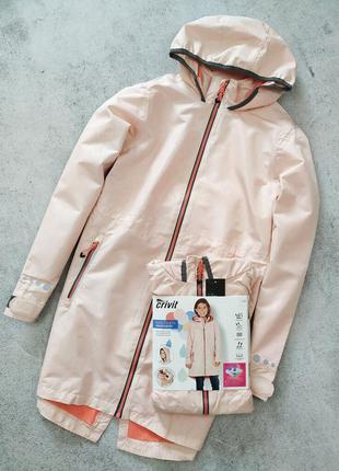 Куртка для девочки crivit дождевик парка