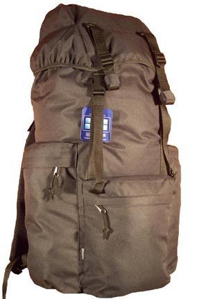 Рюкзак туристический breeze 7116 черный 65 литров