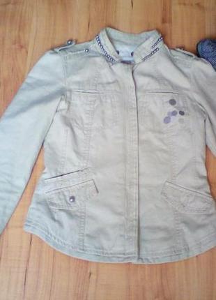 Курточка модная демисезонная, косуха