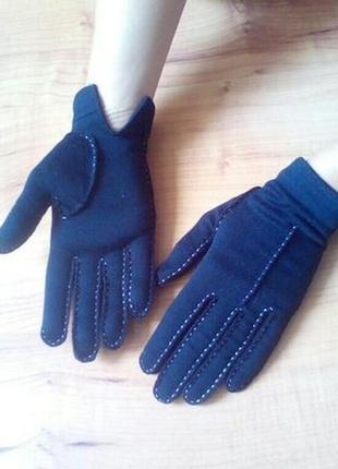 Перчатки демисезонные трикотажные с-ка
