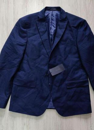 Распродажа до 30 июня 🔥  классический синий мужской пиджак
