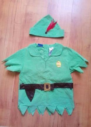 Новогодний костюм питер пэн, робинзона на 6-8 лет