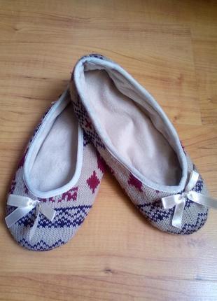Домашние тапочки, носочки теплые 37р.