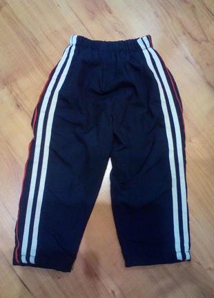 Спортивные штаны на 2-3 годика