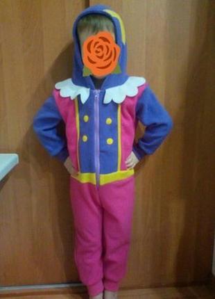Слип, пижама, костюм домашний принцесса 3-4 годика