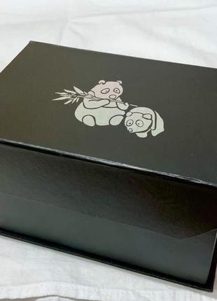 Шкатулка для хранения вещей с рисунком панда