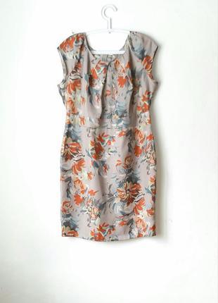 Красивое летнее платье футляр