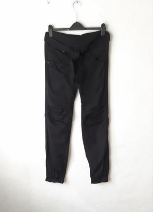 Стильные хлопковые брюки для беременных