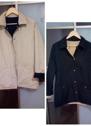 Курточка демисезонная двухсторонняя м