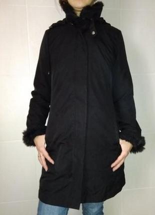 Демисезонная теплая курточка,плащ