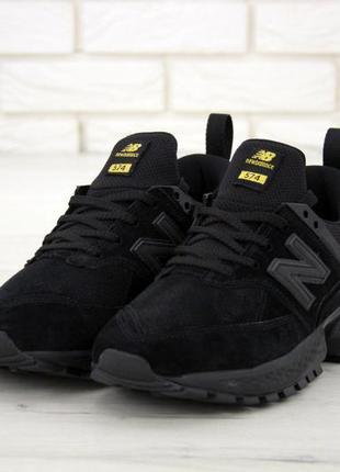 Мужские кроссовки new balance 574 sport v2 black.