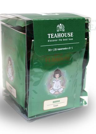 Чай Будда Teahouse пакетированный для чашки 25 пакетиков по 2 г