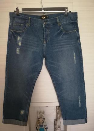 Модные джинсы большого размера