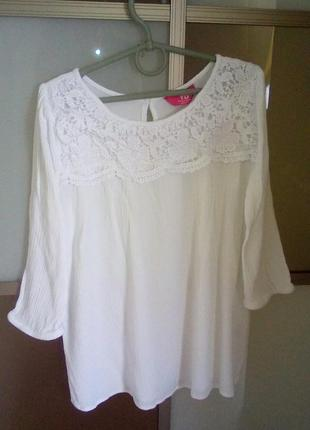 Нарядная блузка на 10-11 лет