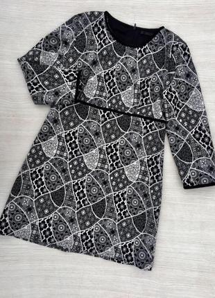 Актуальное  платье с рукавом zara
