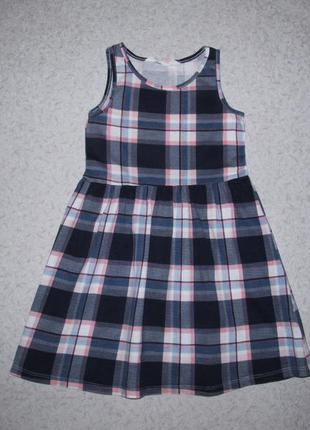 Платье h&m 4-6лет