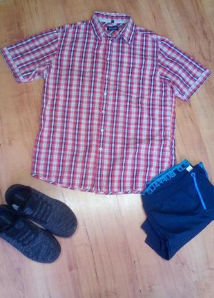 Летняя рубашка мужская м