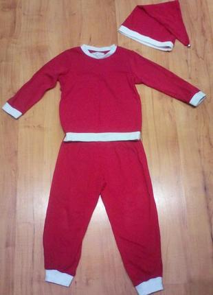 Пижама хлопок,костюм санта 🎅