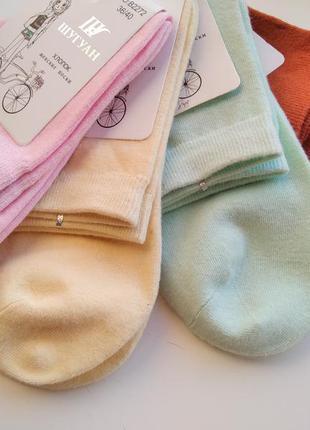 Шкарпетки жіночі однотонні