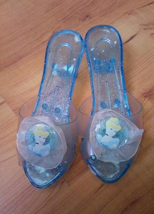 Карнавальные туфли для принцессы 17-18 см