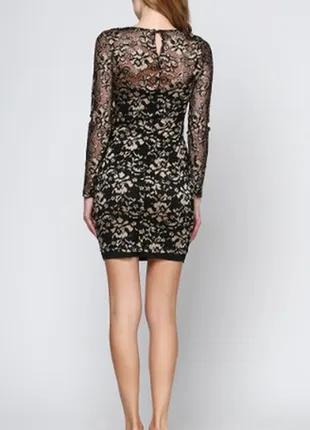 Вечернее платье, коктейльное, кружевное