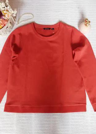 Терракотовый джемпер, свитшот, пуловер