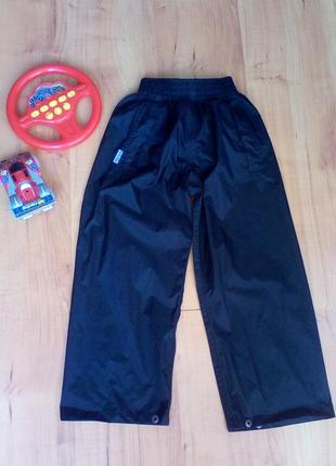 Непромокаемые штаны для дождя, дождевик на 5-6 лет