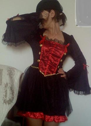 Карнавальное платье,костюм женский пиратка