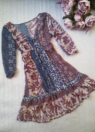 Легкое летнее платье туника