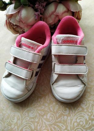Кроссовки кеды для девочки adidas neo label 22 р.