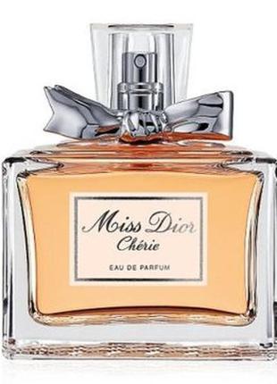 Miss dior cherie парфюмированная вода 110 мл