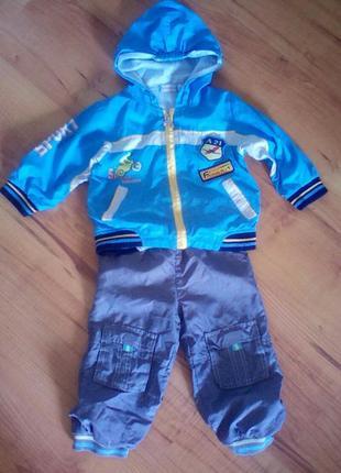 Спортивный костюм на 2 годика