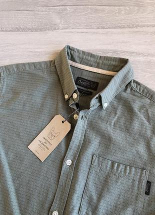 Світлозелена сорочка jack&jones