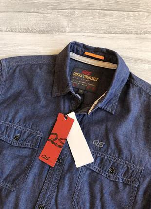 Синя сорочка s.oliver