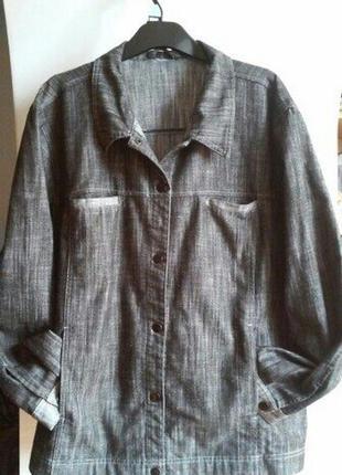 Джинсовая курточка,рубашка,ветровка л-хл