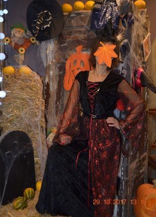 Карнавальное платье,н а хэллоуин,новый год