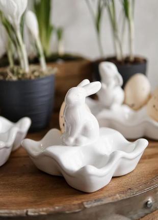 Підставка для яєць яйця зайчик кролик пасхальний  подставка дл...