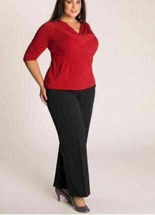Женские классические брюки большого размера bh collection