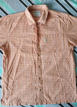 Columbia Sportswear Мужская рубашка Коламбия l- xl