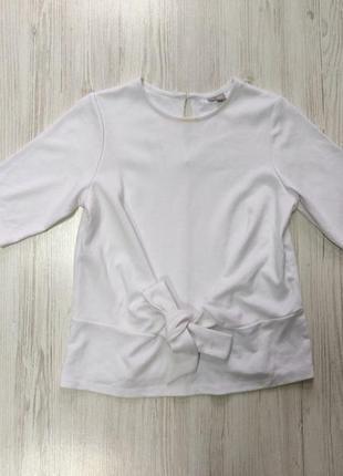 Распродажа до 30 июня 🔥  белый джемпер с укороченными рукавами...