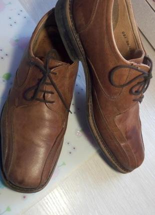 Мужские туфли 42 р стелька 28см