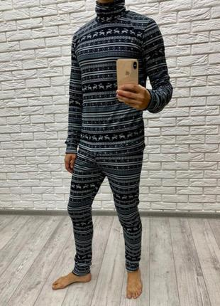 Мужской костюм турецкая вязка