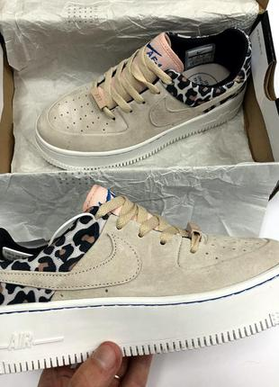 Nike air force 1 low leopard.