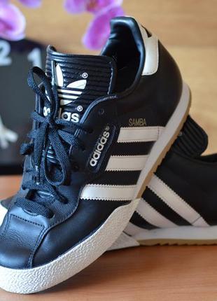 Мужские кроссовки adidas samba super, (р. 37)