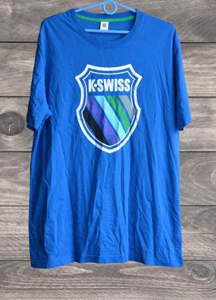 Мужская футболка k-swiss, (р. xl, 52)