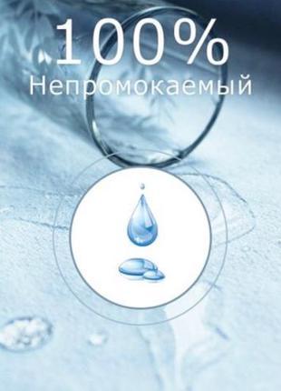 Наматрасник 80*200*25 непромокаемый аквастоп 80х200х25