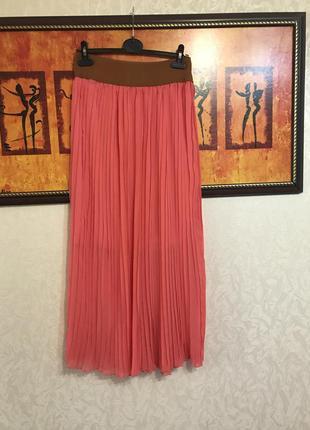 Шикарная юбка плиссированная размер s-l