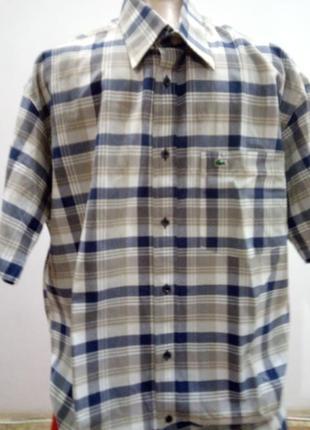 Мужская рубашка с коротким рукавом /франция